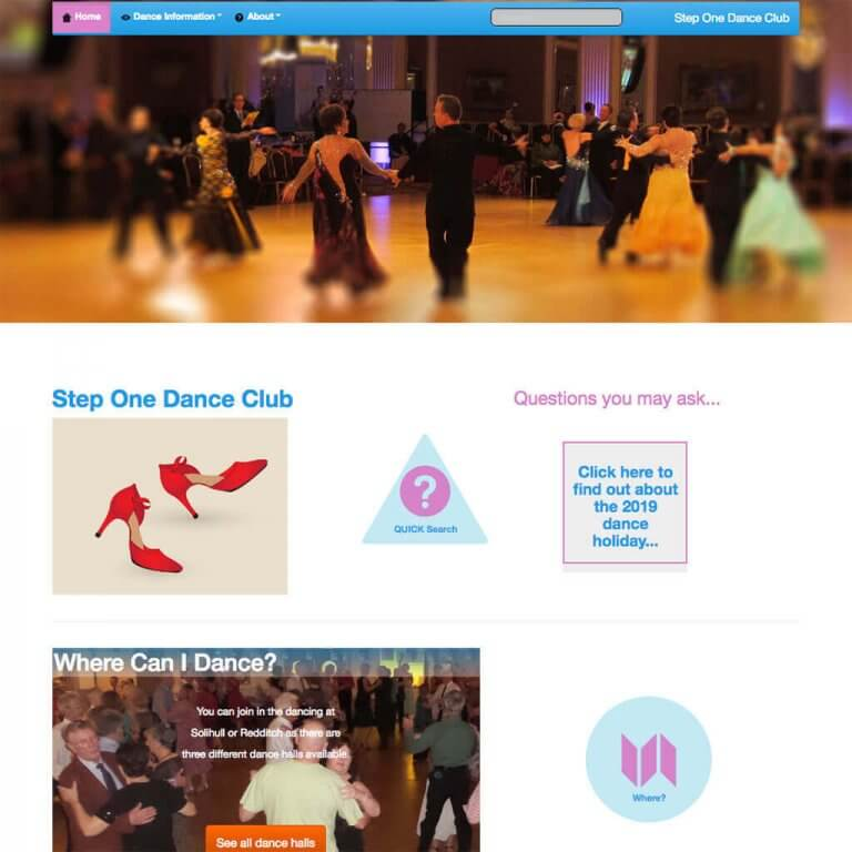 steponedanceclub-website