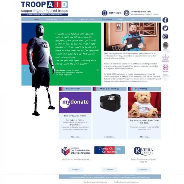 troopaid-website