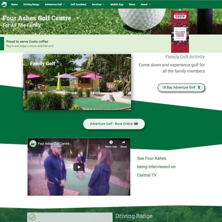 fourashesgolfcentre-website